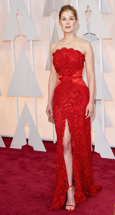 attends the 87th Annual Academy Awards at Hollywood & Highland Center on February 22, 2015 in Hollywood, California.