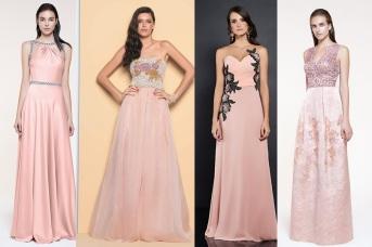 vestido rosa quartzo